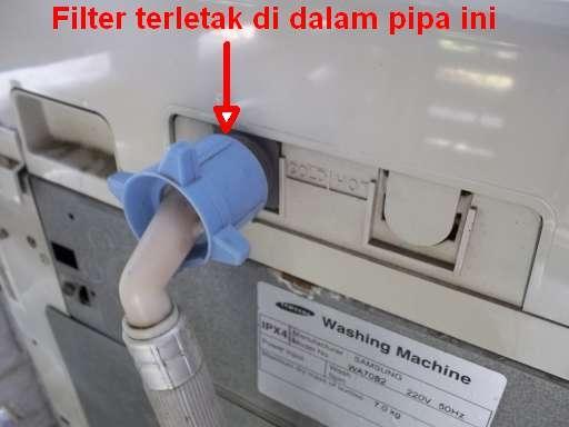 Bersihkan Filter Mesin Cuci Secara Berkala Oleh Ruslan H