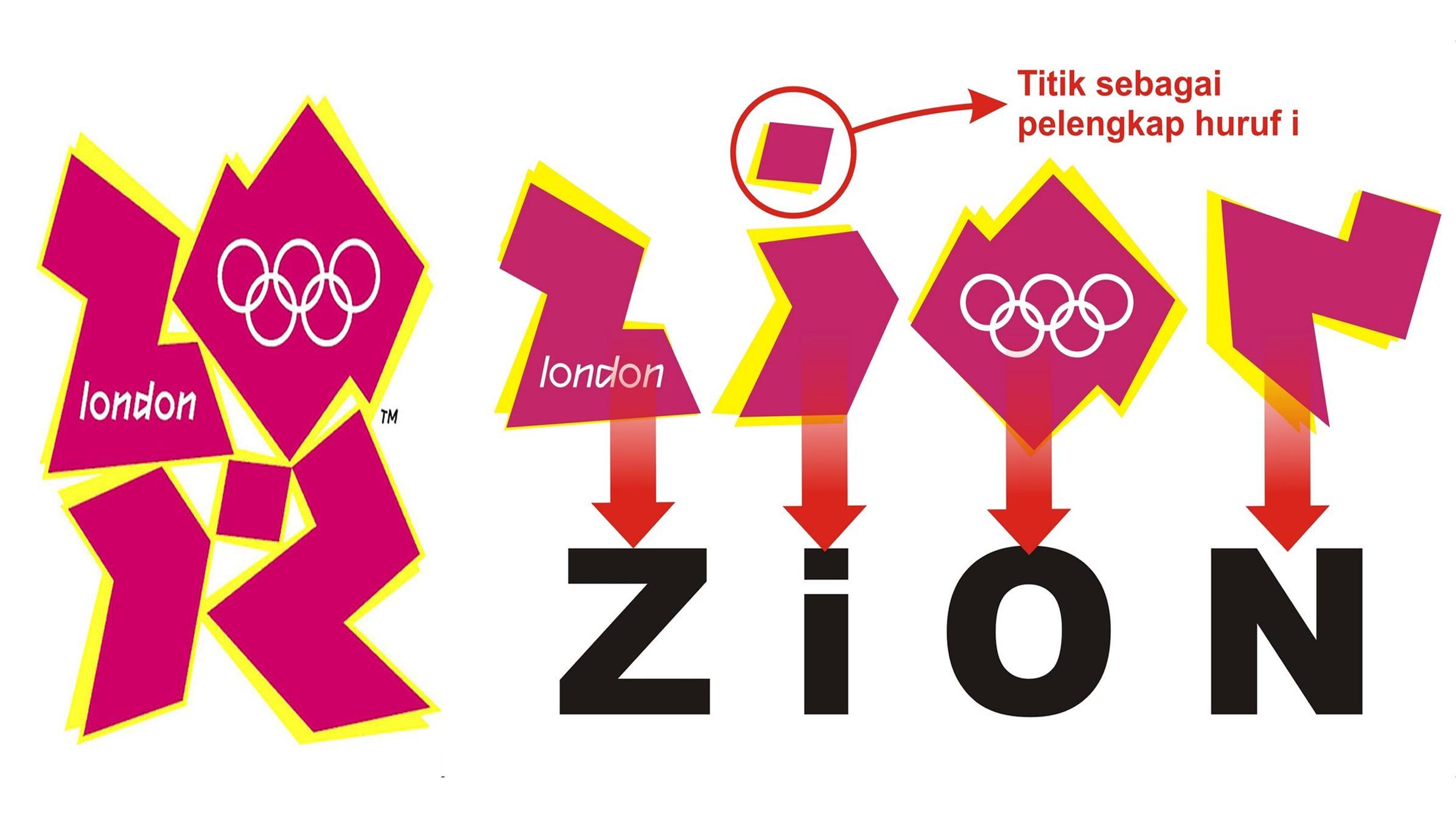 Perdebatan Logo Olimpiade London 2012 Kompasiana Com