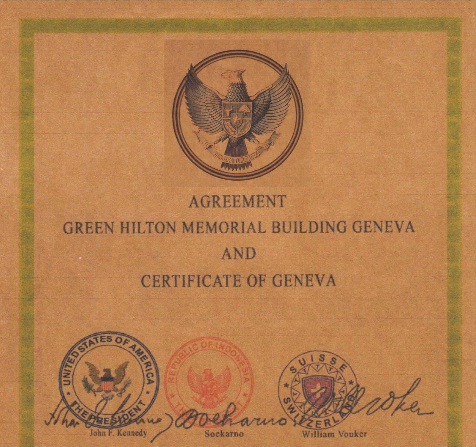 Realitas Tipu Tipu Harta Warisan Bung Karno Green Hilton Agreement