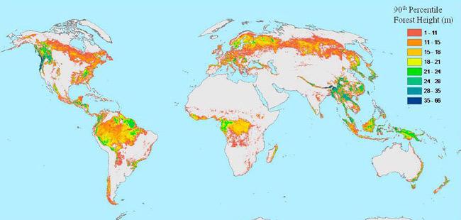 Peta Ketinggian Hutan Dunia Oleh Cechgentong Kompasiana Gambar Asia Tenggara