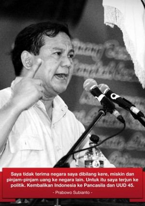 prabowo subianto catatan mengenai hari pahlawan dan sikap bangsa