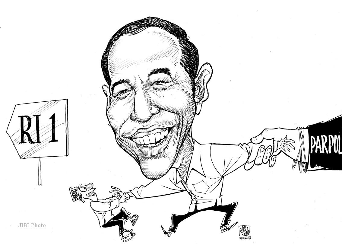 Kumpulan Gambar Karikatur Mudah Hitam Putih Puzzze