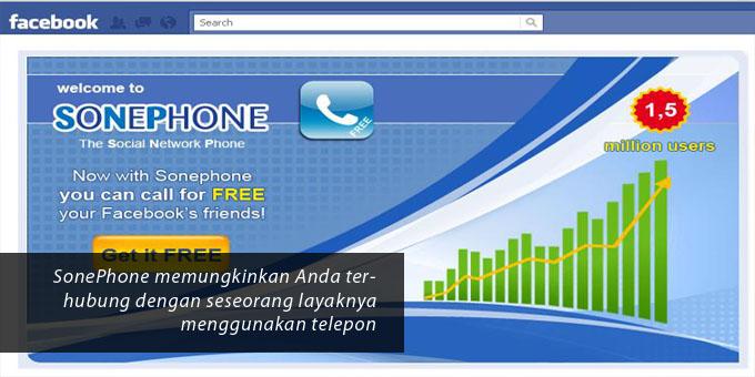 sonephone facebook