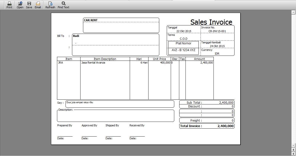 Software Akuntansi Accurate Untuk Rental Mobil Halaman All