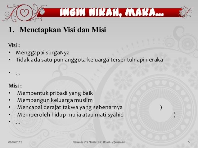 Visi Misi Sebuah Pernikahan Oleh Mr Peken Halaman All Kompasiana Com