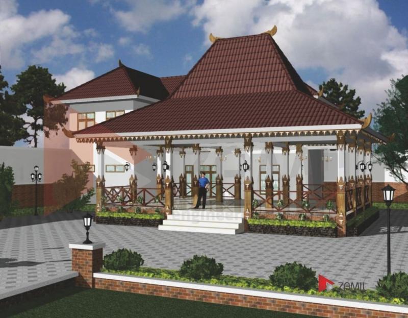 Desain Teras Rumah Joglo Minimalis  ketika anda cinta desain rumah dengan gaya modern minimalis