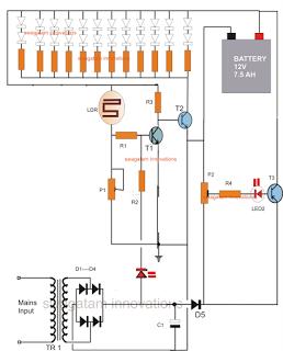 Diagram Lampu Emergency dengan Baterai - Kompasiana.com on