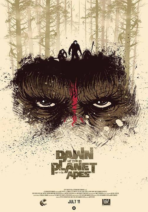 Review Dawn Of The Planet Of The Apes 2014 Koyaknya Kepercayaan Antarspesies Kompasiana Com