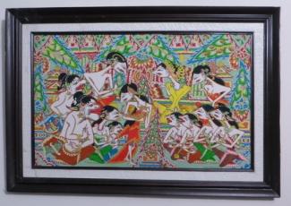 Lukisan Dan Seni Pertunjukan Wayang Beber Kompasiana Com