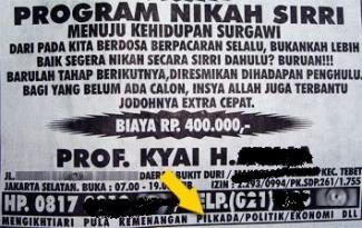 Pernikahan Sirri Di Indonesia Ditinjau Dari Perspektif Islami Kristiani Kompasiana Com