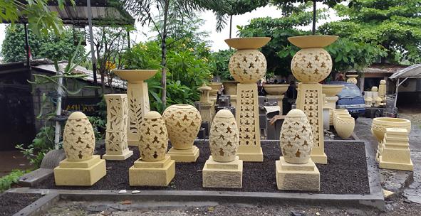 Lampu Taman Batu Alam Bali Deco Desain Rumah