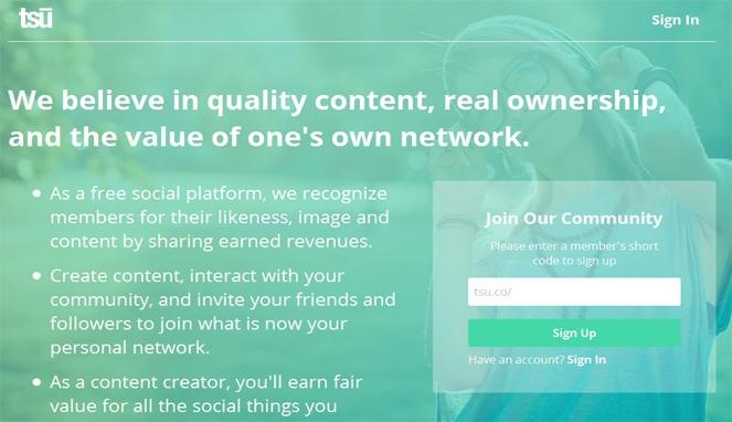 Apa Itu Tsu? Jejaring Sosial Menghasilkan Uang - Kompasiana.com