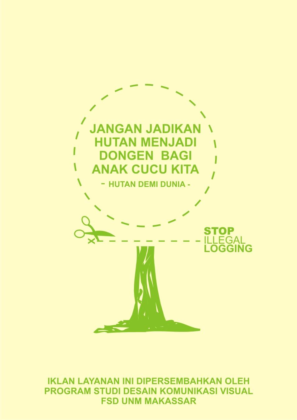 91 Gambar Poster Hutan Gundul Terbaik